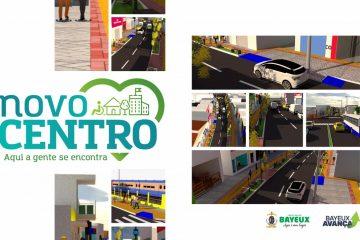 BAYEUX AVANÇA: Gestão assina Ordem de serviço do Projeto Novo Centro