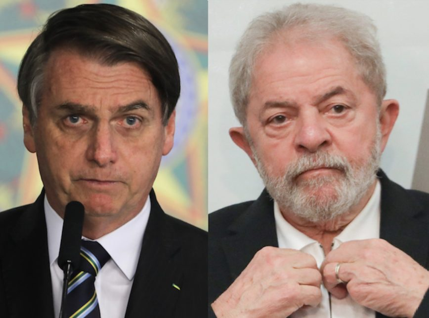 Bolsonaro e Lula 2 868x644 - Se as eleições de 2022 fossem hoje, Bolsonaro e Lula iriam para 2º turno