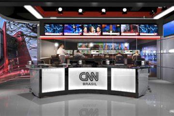 CNNBRasil Estudio 360x240 - Jornalista paraibana revela ter recebido convite para integrar equipe de apresentadores da CNN Brasil