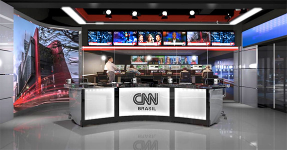 CNNBRasil Estudio - Jornalista paraibana revela ter recebido convite para integrar equipe de apresentadores da CNN Brasil