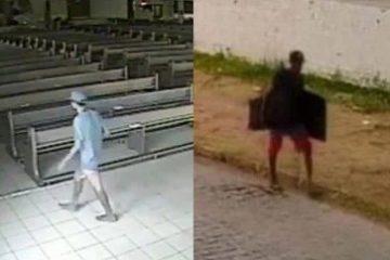 Capturar 48 360x240 - Homem invade igreja no Bessa e rouba TVs; VEJA VÍDEO