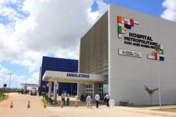 Governo assume gestão direta do Metropolitano e mais quatro unidades de saúde