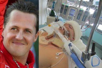 Schumacher está irreconhecível: 'Corpo deteriorado e com músculos atrofiados'