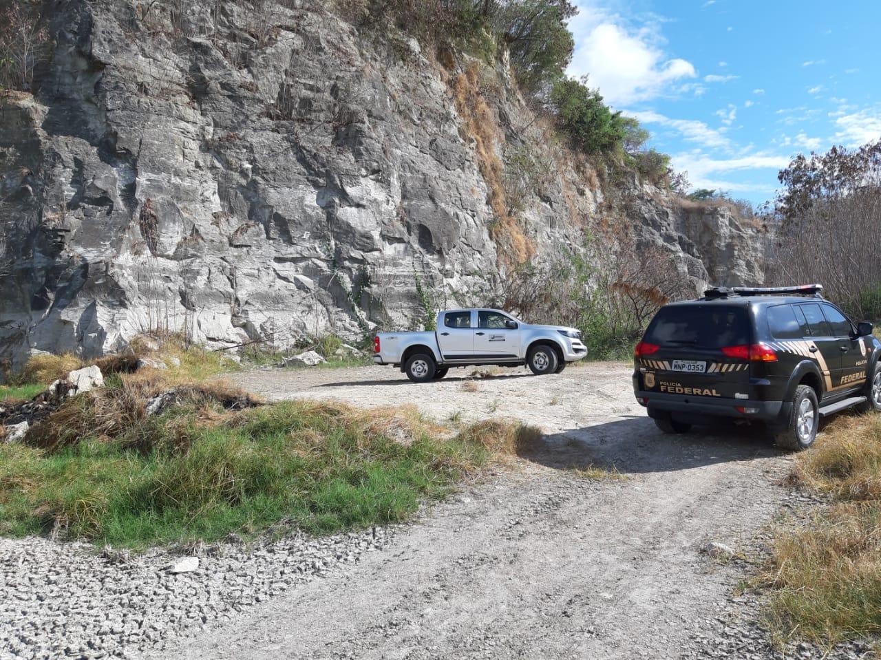 Operação da PF combate extração de recursos minerais em João Pessoa