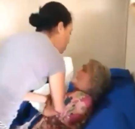 Pastora e cantora evangélica é flagrada batendo na sogra de 73 anos