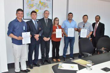 Presidente do TJPB e prefeitos assinam Protocolos de Intenções de cessão de uso de fóruns e casas de juízes