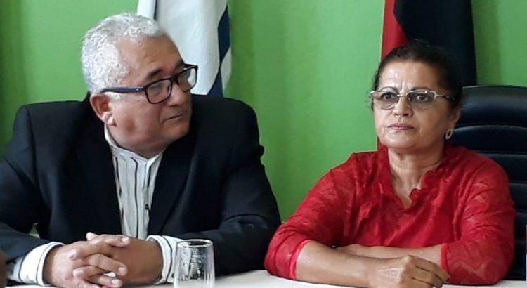 Valdemir Oliveira posse 1 25.01.2020 e1579974989481 - POSSE: Valdemir Oliveira assume Prefeitura de Aparecida, região de Sousa