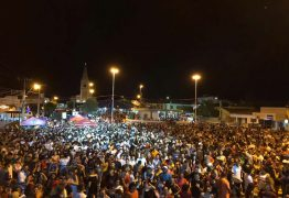 Festa de Réveillon promovida pela prefeitura de São José de Piranhas foi sucesso total