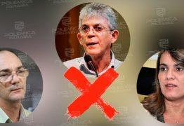 DISPUTA PELA PROPINA: Ricardo Coutinho excluiu Livânia de transação e colocou Coriolano para receber R$3 milhões – OUÇA