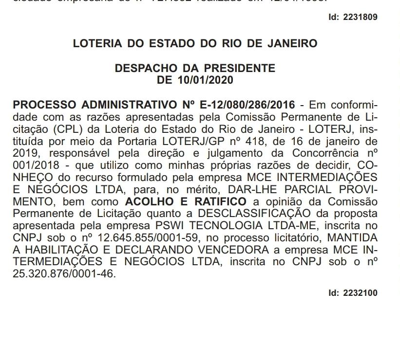 WhatsApp Image 2020 01 15 at 09.58.14 - O Antagonista diz que Operação Calvário interrompeu plano de grupo do ex-governador Ricardo Coutinho na Loteria do Rio