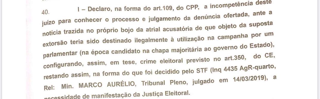 WhatsApp Image 2020 01 17 at 12.39.00 - CAIXA DOIS: Magistrado encaminha denúncia da Calvário pra justiça eleitoral e entra em colisão com GAECO - ENTENDA
