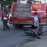 acidente centro 150x150 - COLISÃO: Acidente envolvendo motos deixa homem em estado grave em João Pessoa