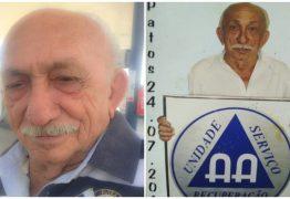Morre Antônio Padeiro, um dos fundadores do AA em Patos e pai do Padre Albeni