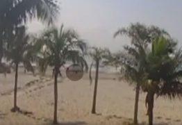 Trator atropela e mata idosa de 72 anos no litoral – VEJA VÍDEO