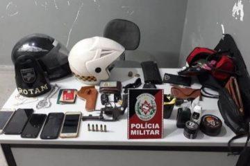 apreensao cg 360x240 - Polícia prende dupla suspeita de cometer assaltos em Campina Grande