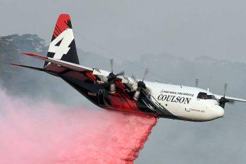 avião e1579792704522 360x240 - Avião que combatia incêndios na Austrália cai e mata 3