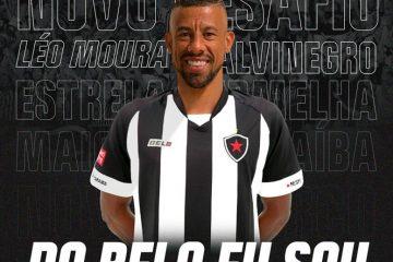 Léo Moura comemora chegada ao Botafogo-PB e promete: 'vamos buscar o inédito título da Copa do Nordeste'