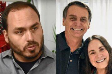 'TEU C*': Carlos Bolsonaro demonstra desagrado após Regina Duarte ser escolhida como secretária e manda recado ofensivo para Revista Veja