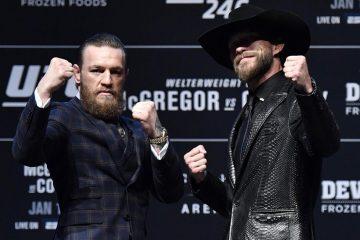 UFC: Cerrone elogia McGregor, diz 'não' a luta no chão e revela forma perfeita de acabar o combate