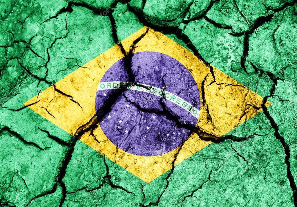 depositphotos 29665525 stock photo cracked soil as brazil flag - A perigosa retórica da guerra política - Por Rui Leitão