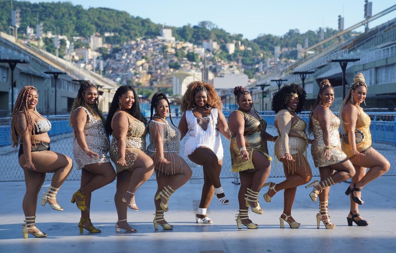 dsc08462baixa - PLUS NO SAMBA: Projeto de passistas plus size promove inclusão no carnaval do Rio