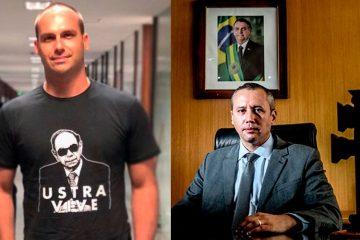 """eduardo bolsonaro roberto alvim 360x240 - Eduardo Bolsonaro diz que """"apoiar o Nazismo é crime""""… para atacar a Folha"""