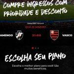 escudos 150x150 - Site do Flamengo comete gafe e troca escudos ao anunciar clássico contra o Vasco