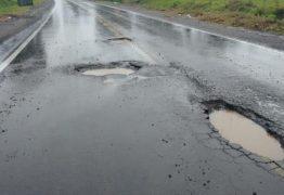 DER realiza obras de recuperação em estrada danificada pelas chuvas