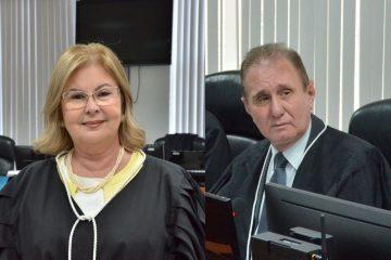 fatima bezerra e abrahan lincoln 360x240 - Fátima Bezerra e Abraham Lincoln são escolhidos como novos presidentes da 1ª e 2ª Câmaras Cíveis do TJPB