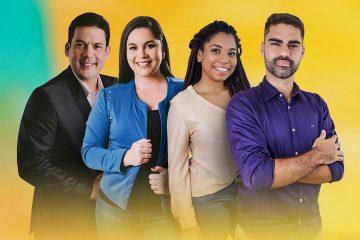 """fbdffa7e 0fc7 4b55 bbb2 ca441f7395a6 2 e1579819967274 360x240 - """"NO A"""": TV Arapuan apresenta time de repórteres de Bruno Sakaue e Patrícia Rocha"""