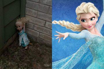 """fotojet 1 9 360x240 - Let it Go: família alega ser assombrada por boneca Elsa, do filme """"Frozen"""""""