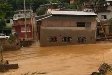 g1 desaba raul soares 360x240 - Temporais em Minas Gerais: homem relata a sensação de ver sua casa de 2 andares levada pela chuva - VEJA VÍDEO