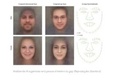 gay 360x240 - Inteligência artificial diz se você é gay analisando uma foto de seu rosto