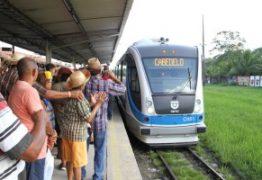 Passagens de trens urbanos da Grande João Pessoa passam a custar R$ 1,75 nesta segunda-feira