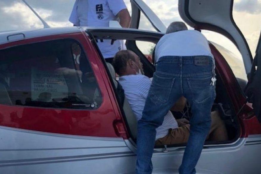 jeova campos transferido sousa joao pessoa apos hemorragia 27012020 1 - Deputado Jeová Campos é transferido de avião para João Pessoa após sofrer hemorragia no Sertão