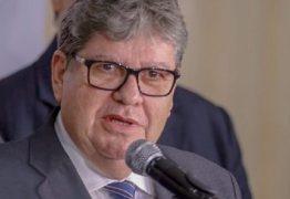 João dá pontapé inicial nas articulações visando as eleições deste ano e anuncia reunião com prefeitos e lideranças