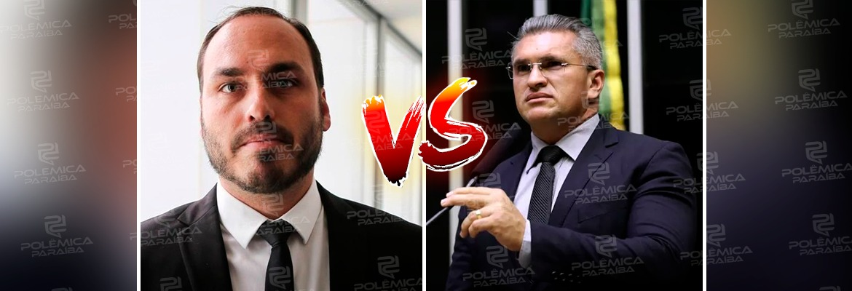"julian lemos x carlos bolsonaro - ""CADELA NO CIO"": Julian Lemos volta a discutir com Carlos Bolsonaro no Twitter - OUÇA"