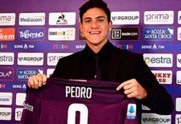 Empresário viaja à Itália por liberação de Pedro da Fiorentina