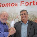 lula e flávio dino 150x150 - Governador do Maranhão se encontra com Lula para defender frente anti-Bolsonaro