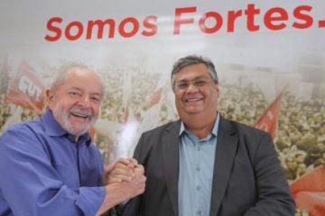 Governador do Maranhão se encontra com Lula para defender frente anti-Bolsonaro