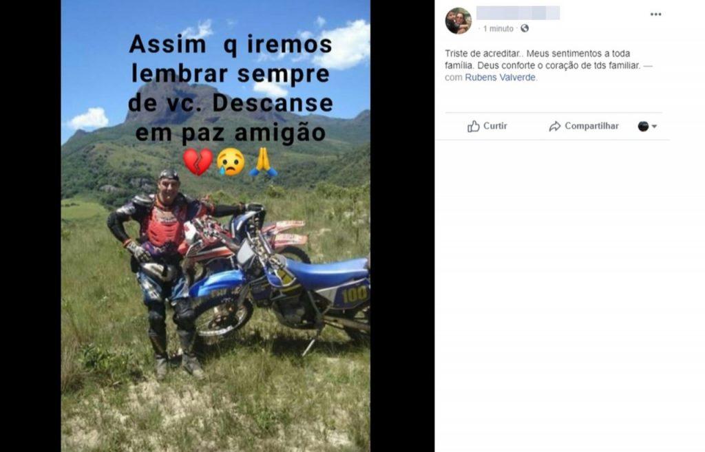 luto 1024x657 - Pai da atriz Isis Valverde morre após sofrer infarto durante trilha de moto