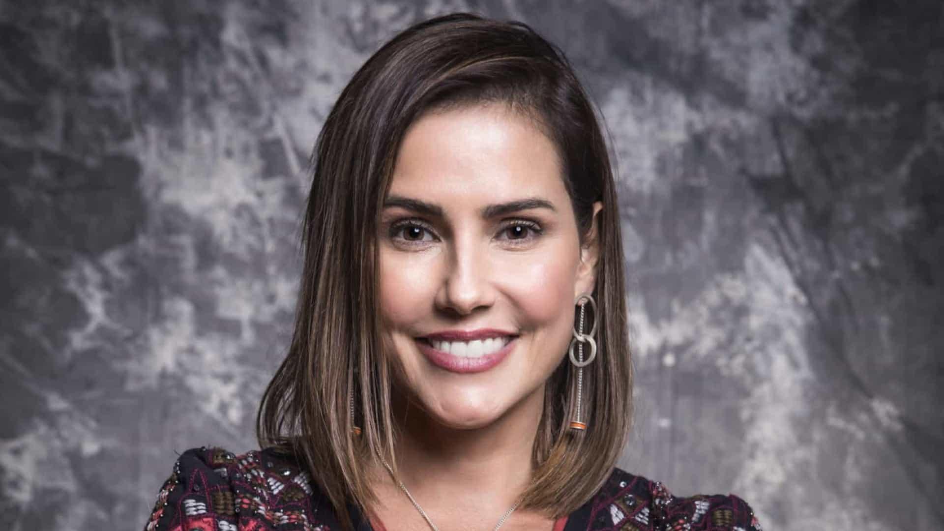 Deborah Secco diz que realizou sonho ao gravar cena de furacão na Globo