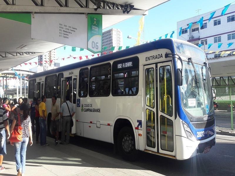 Empresas de ônibus solicitam reajuste da tarifa em Campina Grande
