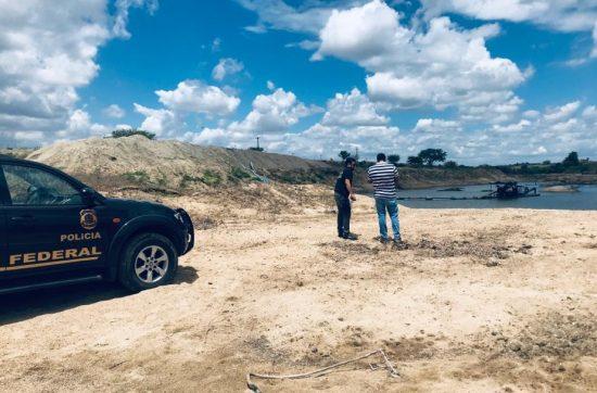 'JAMPA VERDE III': Operação da PF é deflagrada para combater extração irregular de recursos minerais