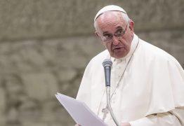 Papa faz apelo de paz em meio a tensão no Oriente Médio