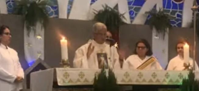 pe adilson - SANGUE NO CÁLICE: Vaticano vai investigar possível milagre durante missa em Recife - VEJA VÍDEO