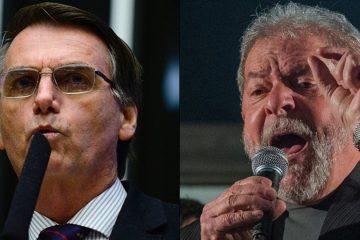 pesquisa lula bolsonaro 360x240 - PESQUISA CNT/MDA: Bolsonaro lidera intenção de voto para 2022 seguido por Lula
