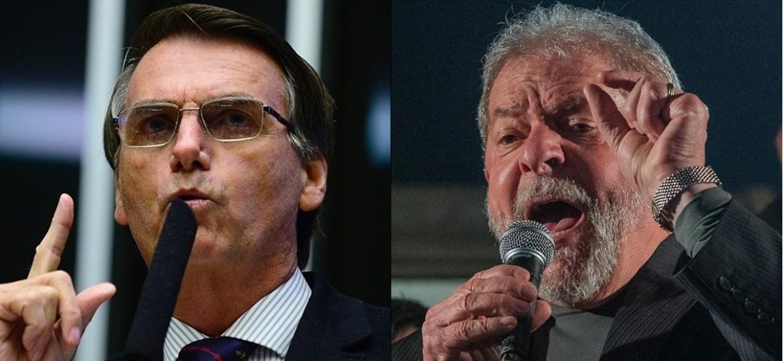 pesquisa lula bolsonaro - PESQUISA CNT/MDA: Bolsonaro lidera intenção de voto para 2022 seguido por Lula