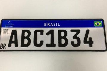 placa mercosul versao atual 1567442938759 v2 750x421 360x240 - Defendida por Bolsonaro, Placa Mercosul mais simples facilita clonagens