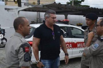 pmjp carnaval 1 600x375 360x240 - Julian Lemos visita Companhias e Batalhões da polícia da PB, busca soluções e se consolida como o parlamentar que mais atua pela Segurança Pública